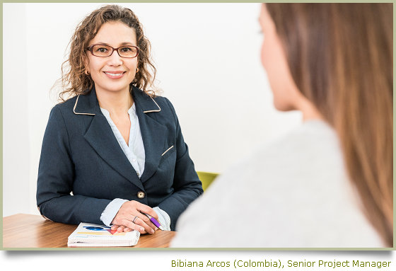 Bibiana Arcos (Colombia) Project Manager